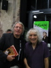 Member of the B-FIVE-BLUESBAND meets Albert LEE